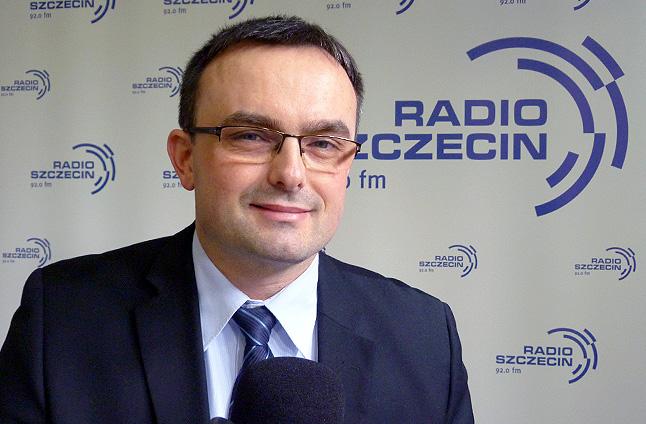 Tomasz Hinc. Fot. Piotr Sawiński [Radio Szczecin]
