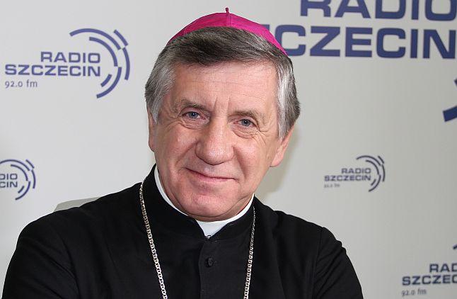 Abp Andrzej Dzięga. Fot. Piotr Kołodziejski [Radio Szczecin]