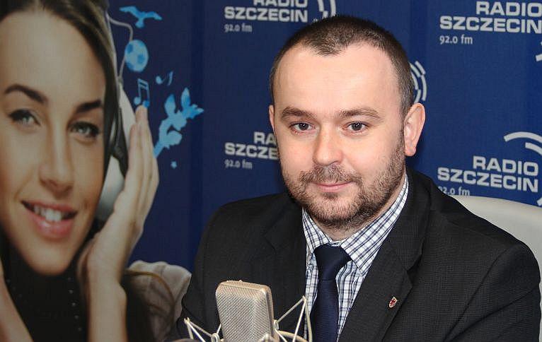 Paweł Mucha. Fot. Piotr Kołodziejski [Radio Szczecin/Archiwum]