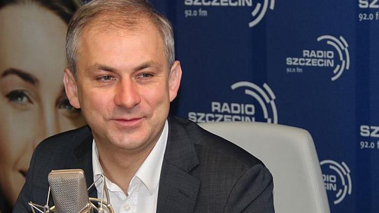 Grzegorz Napieralski. Fot. Piotr Kołodziejski [Radio Szczecin]