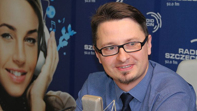 Marcin Sampławski. Fot. Łukasz Szełemej [Radio Szczecin]