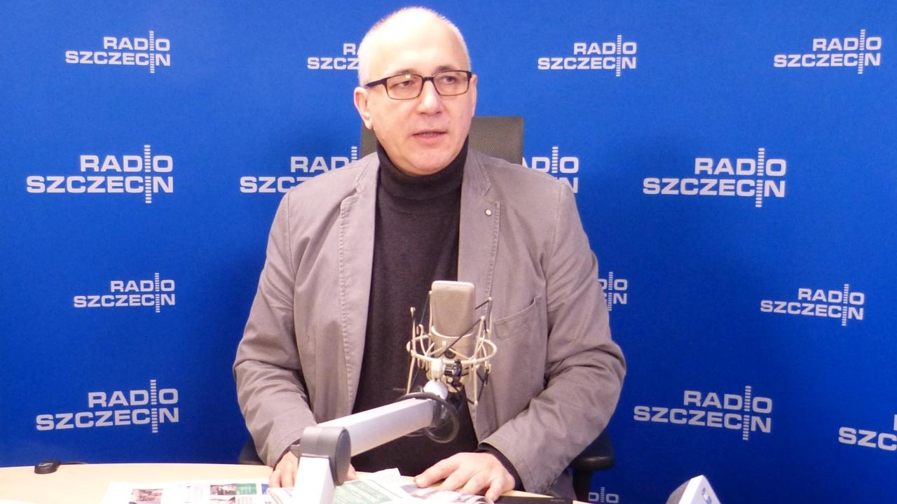 Joachim Brudziński. Fot. Michał Król [Radio Szczecin]