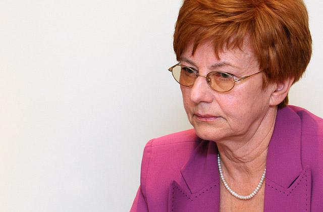 Elżbieta Piela Mielczarek, była posłanka i radna Sejmiku zrezygnowała z członkostwa w Sojuszu Lewicy Demokratycznej. Fot. Łukasz Szełemej [PR Szczecin]