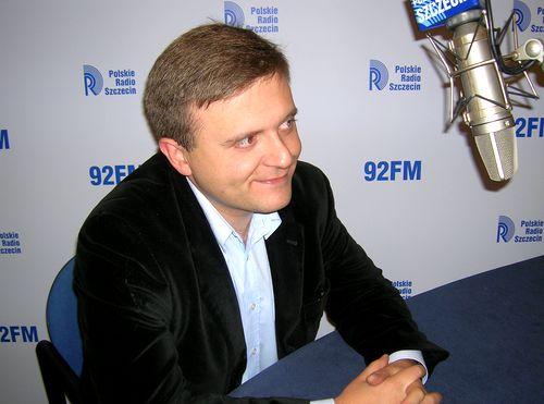 Mateusz Piskorski. fot. PR Szczecin