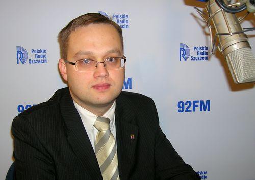Beniamin Chochulski. fot. PR Szczecin