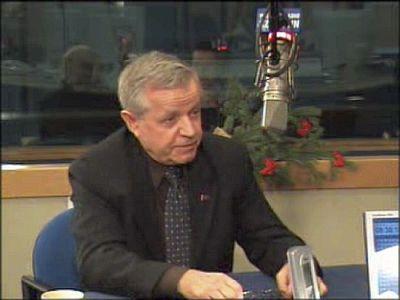 Bazyli Baran, przewodniczący Rady Miasta.