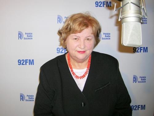 Mirosława Masłowska. Fot. PR Szczecin
