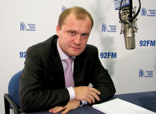 Piotr Krzystek. Fot. PR Szczecin