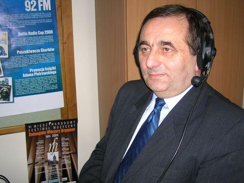 Janusz Żmurkiewicz. Fot. PRS/Archiwum