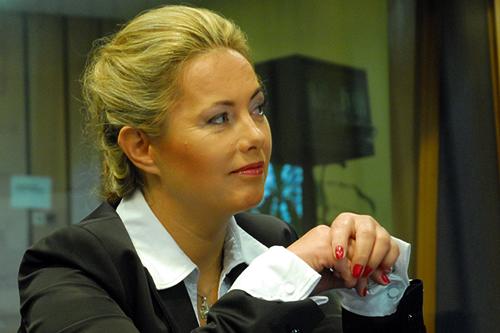 Renata Zaremba. Fot. PRS/Archiwum