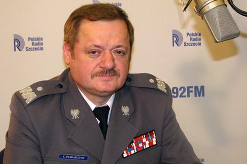 nadinspektor Tadeusz Pawlaczyk. Fot. Piotr Sawiński [PR Szczecin]
