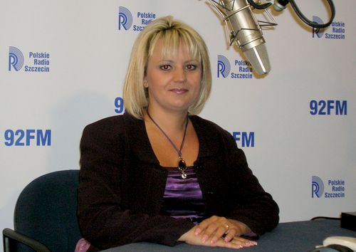 Marzena Kopacka. Fot. PR Szczecin/Archiwum
