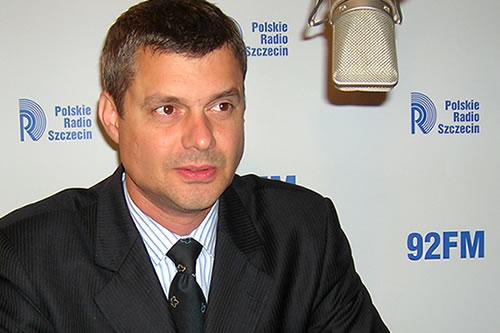 Piotr Kęsik. Fot. PR Szczecin/Archiwum