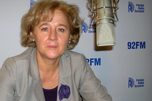 Elżbieta Masojć. Fot. PR Szczecin/Archiwum