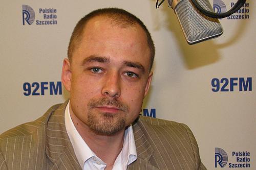 Michał Łuczak. Fot. Piotr Sawiński [PR Szczecin]