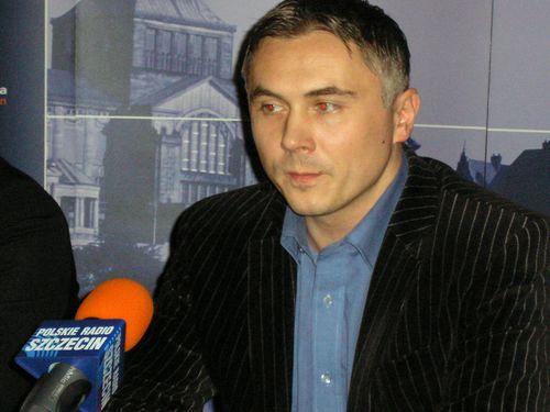 Sebastian Karpiniuk. Fot. PR Szczecin/Archiwum
