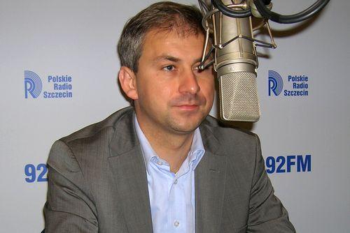 Grzegorz Napieralski. Fot. PR Szczecin/ Archiwum