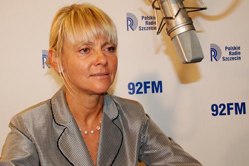 Małgorzata Jacyna-Witt. Fot. Łukasz Szełemej [PR Szczeci/Archiwum]