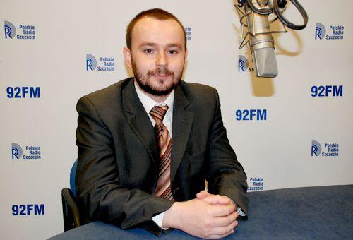 Paweł Mucha. Fot. PR Szczecin/Archiwum