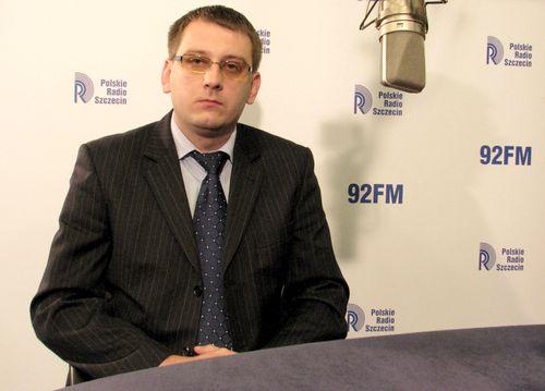 Dawid Krystek. fot. [PR Szczecin/Archiwum]