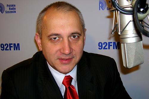 Joachim Brudziński. Fot. Łukasz Szełemej [PR Szczecin/Archiwum]