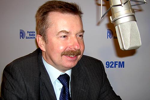Dariusz Wieczorek. Fot. Łukasz Szełemej [PR Szczecin/Archiwum]