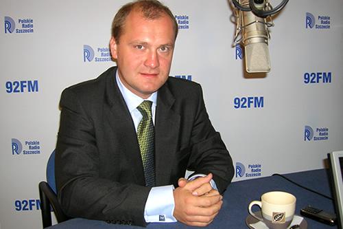 Piotr Krzystek. Fot Łukasz Szełemej [PR Szczecin/Archiwum]