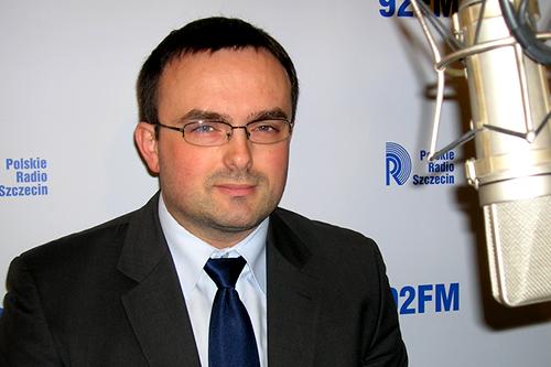 Tomasz Hinc. Fot. Łukasz Szełemej [PR Szczecin/Archiwum]