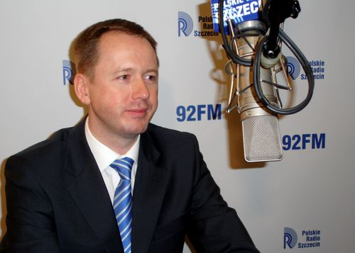 Arkadiusz Litwiński. Fot. Łukasz Szełemej [PR Szczecin/Archiwum]