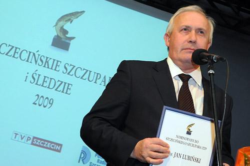 Profesor Jan Lubiński. Fot. Łukasz Szełemej [PR Szczecin]