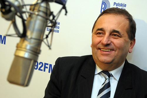 Janusz Żmurkiewicz. Fot. Łukasz Szełemej [PR Szczecin]