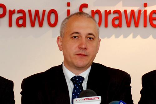Joachim Brudziński. Fot. Łukasz Szełemej [PR Szczecin]