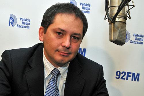 Wojciech Drożdż. Fot. Łukasz Szełemej [PR Szczecin]