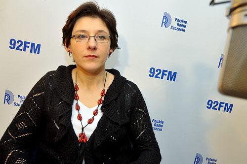 Magdalena Urbala. Fot. Łukasz Szełemej [PR Szczecin]