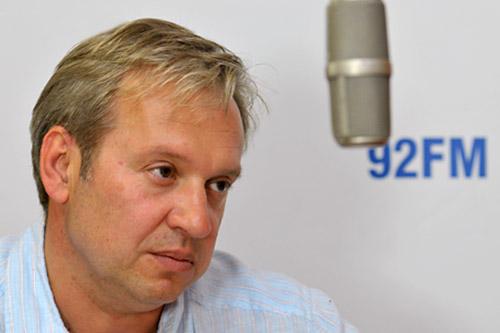 dr Waldemar Urbanik. Fot. Łukasz Szełemej [PR Szczecin]