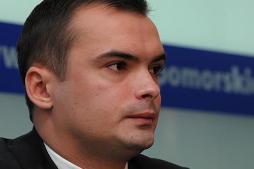 Michał Marcinkiewicz. Fot. Łukasz Szełemej [PR Szczecin]