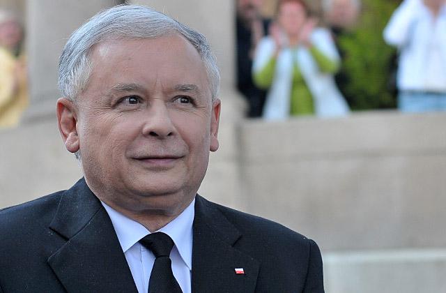 Jarosław Kaczyński. Fot. Łukasz Szełemej [PR Szczecin]