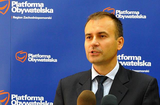 Norbert Obrycki. Fot. Łukasz Szełemej [PR Szczecin]