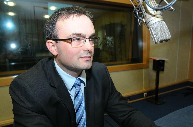 Tomasz Hinc. Fot Piotr Sawiński [PR Szczecin]