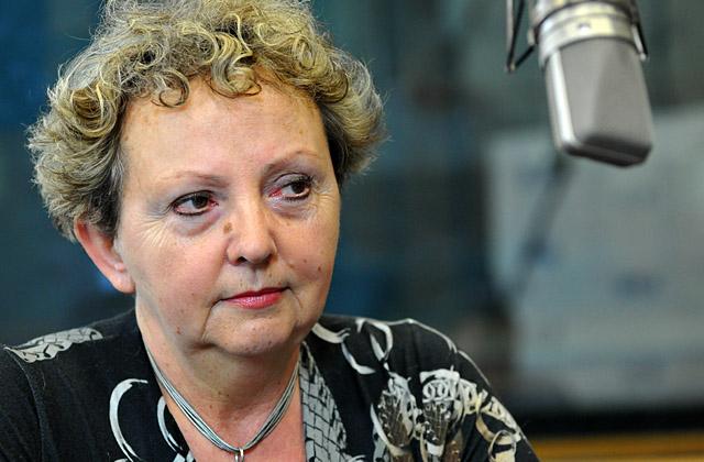 Danuta Parszewska - Knopf. Fot. Łukasz Szełemej [PR Szczecin]