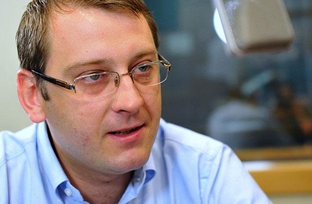 Dawid Krystek. Fot. Łukasz Szełemej [PR Szczecin/Archiwum]