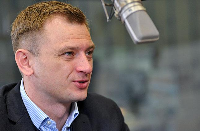 Sławomir Nitras. Fot. Łukasz Szełemej [PR Szczecin/Archiwum]