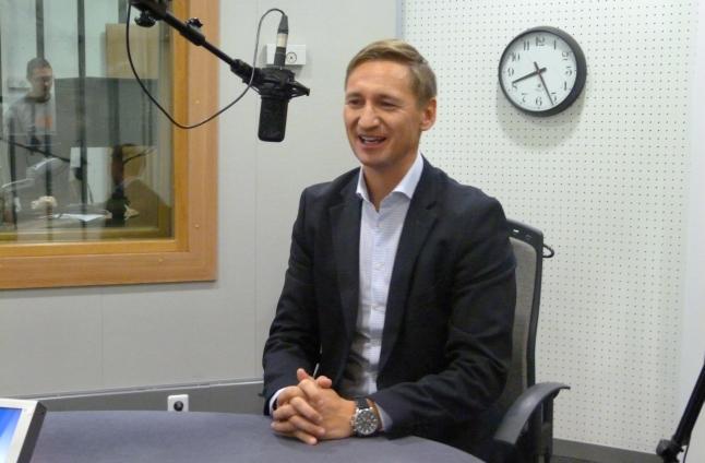 Olgierd Geblewicz. Fot. Sylwia Polachowska [Radio Szczecin]