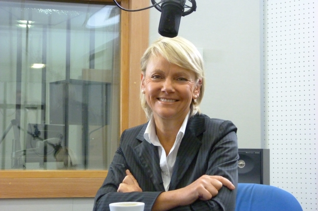 Małgorzata Jacyna-Witt. Fot. Sylwia Polachowska [Radio Szczecin]