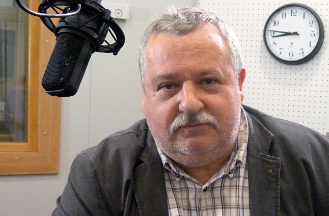 Artur Balazs. Fot. Piotr Kołodziejski [Radio Szczecin]