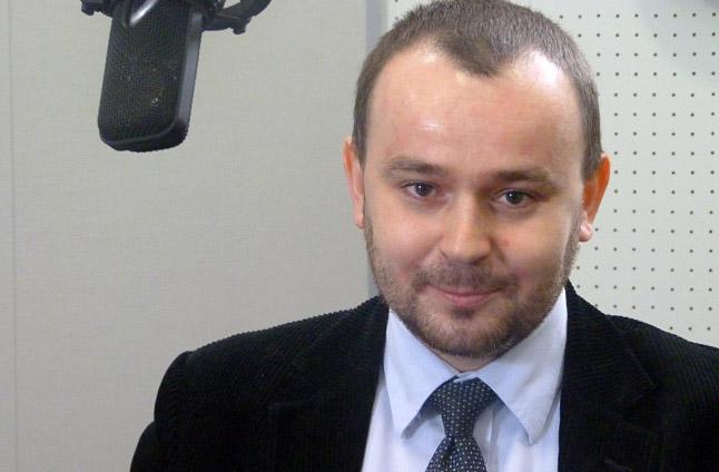 Paweł Mucha. Fot. Piotr Sawiński [Radio Szczecin]