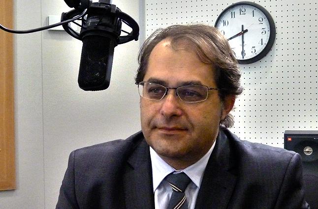 Marek Gróbarczyk. Fot. Piotr Sawiński [Radio Szczecin]