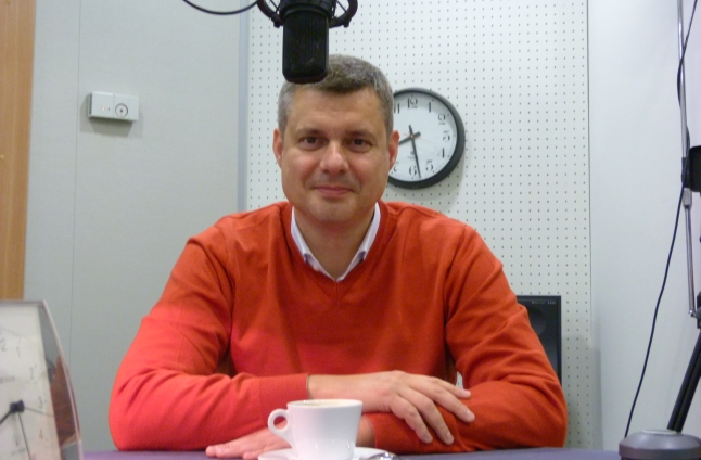 Piotr Kęsik. Fot. Sylwia Polachowska [Radio Szczecin]