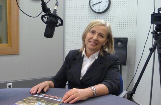 Urszula Pańka. Fot. Sylwia Polachowska [Radio Szczecin]