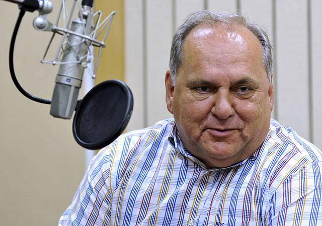 Jarosław Mroczek. Fot. Łukasz Szełemej [Radio Szczecin]